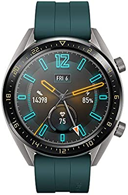 Huawei Watch GT Active - Reloj Inteligente, Verde, 46 mm, Reloj