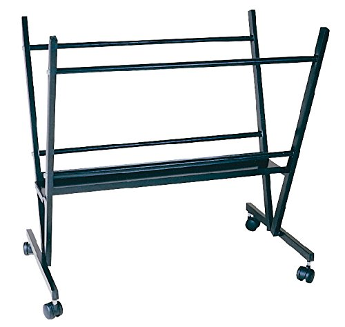 Jack Richeson Print Rack, 34 in H X 18 in W X 32 in L, Steel, Black by Jack Richeson