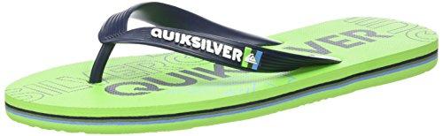 Green Multicolor Hombre Quiksilver Sandalias Molokai Nitro Black Green para qUUXA0w