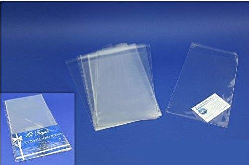 10 Bolsas Transparentes 30 x 40 cm con pegatina de cierre ...