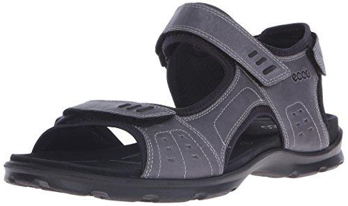 ECCO Men's Utah Outdoor Sandal, Titamium, 45 EU/11-11.5 M US ()