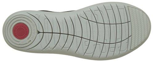 black A Uberknit Donna Slip Fitflop soft on Grey Sneaker Alto Collo Sneakers Multicolour xqXvqw