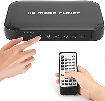 Reproductor HDMI, Mini Reproductor Multimedia HDMI 1080P, es ...