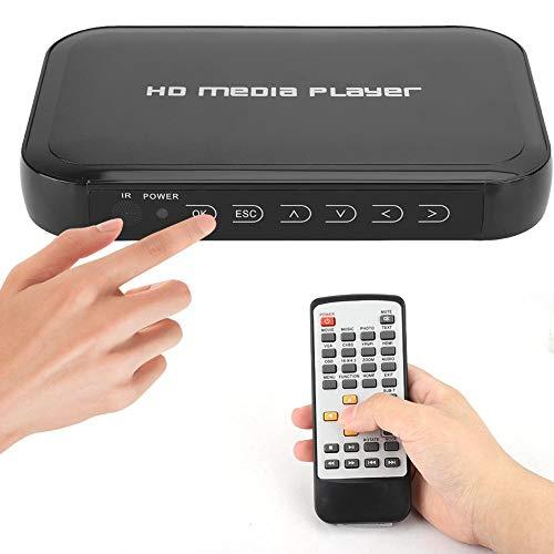 HDMI-multimediaspeler, 1080P, mini-multimediaspeler, HDMI, ondersteunt SD/MMC, U-schijf, mobiele harde schijf, mini…