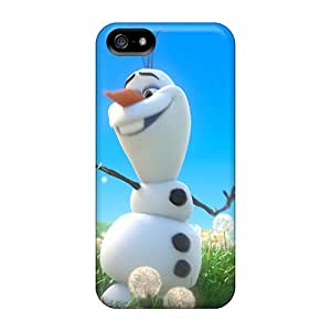 Awesome BHE3513WxhC Richardcustom2008 Defender Tpu Hard Cases Covers For Iphone 5/5s- Olaf With Spring