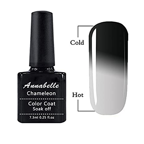 Annabelle Gel Nail Polish Chameleon Thermic Varnish Semi Permanent Soak Off UV LED Temperature Color Changing Gel Polish 5772
