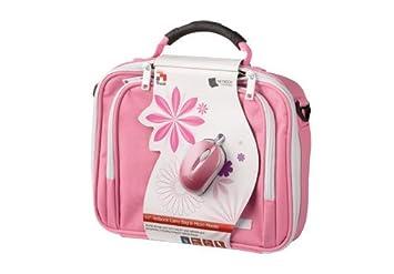 Trust 16833 - Bolsa para ordenadores portátiles de 10 pulgadas, color rosa: Amazon.es: Informática
