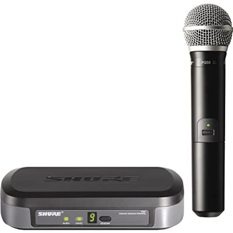 Shure PG24/PG58 Wireless Vocal System, H7 (Shure Ulx Wireless Microphone)