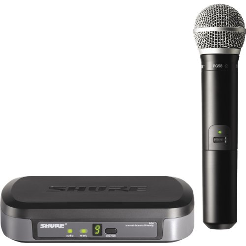 (Shure PG24/PG58 Wireless Vocal System, H7)