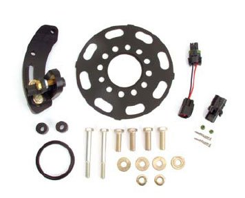 Crank Trigger Ignition - FAST 301270 FAST's crank trigger kit provides the installer with everything needed for a clean installation of one of the best and most accurate crank trigger kits available. Ignition Crank Trigger Kit Crank Trigger for SBC with 7