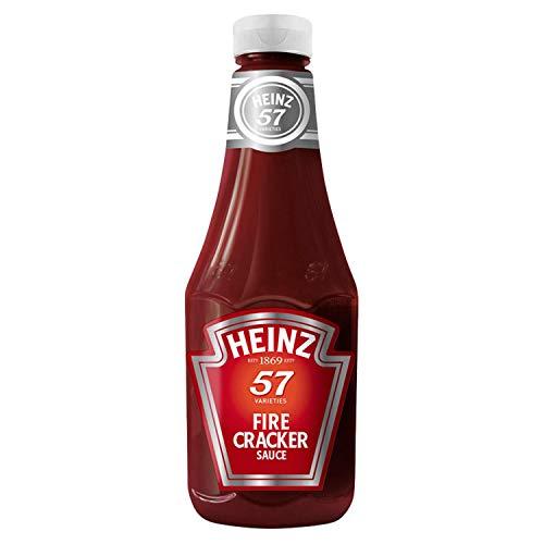 Heinz Fire Cracker Sauce 875ml Perfect voor pizza, vlees, hotdogs, kippenvleugels, ribben, nacho's