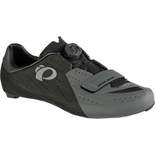 アナニバーご注意汚染(パールイズミ) Pearl Izumi ELITE Road V5 Cycling Shoe メンズ ロードバイクシューズBlack/Shadow Grey [並行輸入品]