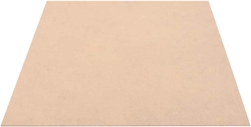 mewmewcat MDF Platte Multiplexplatten 4 St/ück MDF-Platten Holzplatten 60 x 60 cm Beige