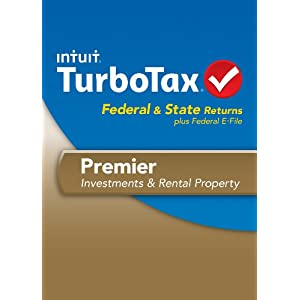 TurboTax Premier Fed + Efile + State 2013 OLD VERSION