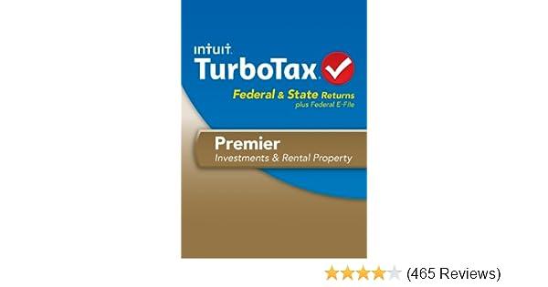 TurboTax Premier Fed + Efile + State 2013 OLD VERSION