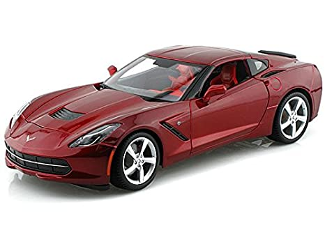 Amazon.com: 2014 C7 Chevy Corvette Stingray 1/18 Red: Toys & Games