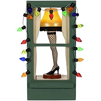 Amazon Com A Christmas Story Movie Leg Lamp Ornament