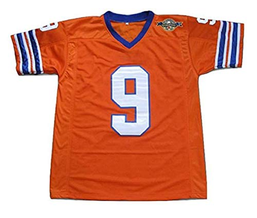 Boriz Adam Sandler Bobby Boucher The Waterboy Mud Dogs Football Jersey with Bourbon Bowl Patch (54) Dog Football Jersey Shirt