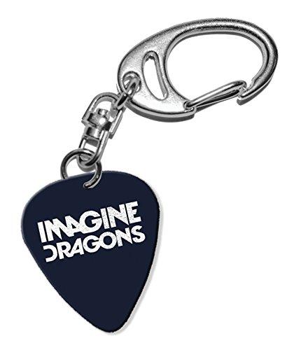 Imagine Dragons Guitarra Plectro Keyring Llavero (F1 ...