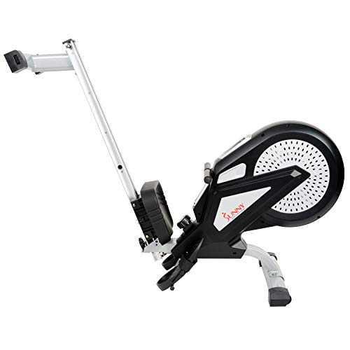 Sunny Health & Fitness SF-RW5623 Air Rowing Machine Rower w/ LCD Monitor by Sunny Health & Fitness (Image #10)