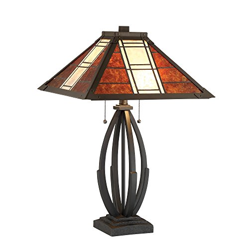 Lite Source Halden Table Lamp with Shade (Room Mission Living Furniture Lodge)