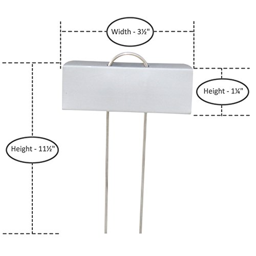 YOUniversal Products Large Metal Plant Labels - 15 Pack of 11.5'' Garden Markers by YOUniversal Products (Image #2)