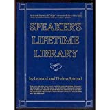 Speaker's Lifetime Library, Leonard Spinrad and Thelma Spinrad, 0138245576