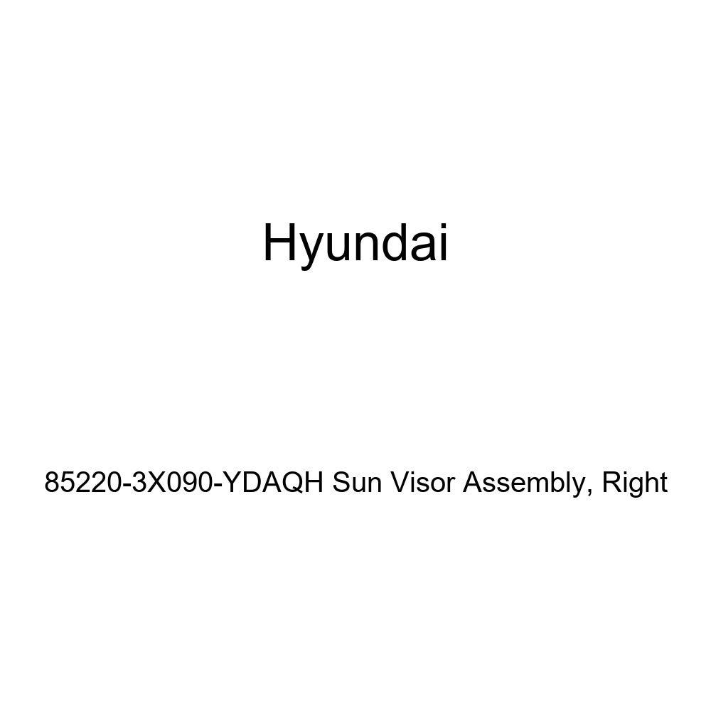 Right Genuine Hyundai 85220-3X090-YDAQH Sun Visor Assembly