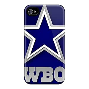 New Style Tpu 4/4s Protective Case Cover/ Iphone Case - Dallas Cowboys