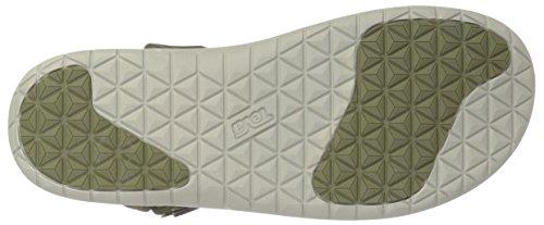 Teva Sanborn Universal MS, Zapatillas de Atletismo Para Hombre Verde (Olive)