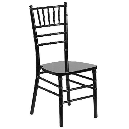 (Flash Furniture HERCULES Series Black Wood Chiavari Chair)