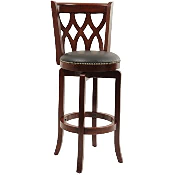 Amazon Com Boraam 45729 Florence Bar Height Swivel Stool