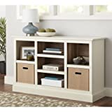 Better Homes and Gardens Dover Console/Bookcase (Ivory)