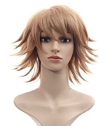 Free Hair Cap + Danganronpa Dangan-ronpa Chihiro Fujisaki Cosplay Wig -