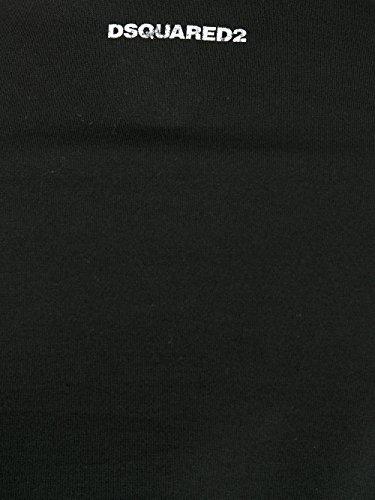 Dsquared2 Herren S71GD0577S22427900 Schwarz Baumwolle T-Shirt