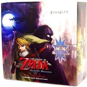 The Legend of Zelda Twilight Princess Trading Card Sealed Box [24 Packs] (Twilight Trading Cards)