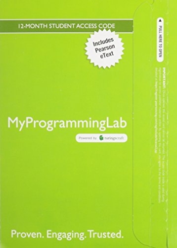 MyProgrammingLab with Pearson eText - Access Card - for Starting Out With C++ Brief (7th Edition)