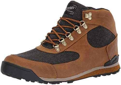 (Danner Men's Jag Wool Ankle Boot elk Brown 10 D)