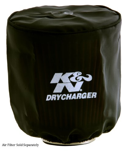 K&N RX-3810DK Black Drycharger Filter Wrap - For Your K&N RX-3770 Filter