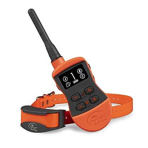 SportDOG Brand SportTrainer Remote Trainers – Bright, Easy to Read OLED Screen – Up to 3/4 Mile Range – Waterproof, Rechargeable Dog Training Collar with Tone, Vibration, and Shock