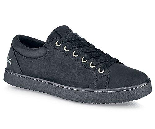 Scarpe per Equipaggi M11057–42/8Mozo Finn da uomo con lacci scarpe da ginnastica, antiscivolo, 8UK, nero