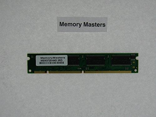 - MEM3725-64D 64MB DRAM DIMM MEMORY FOR CISCO 3725 ROUTER(MemoryMasters)