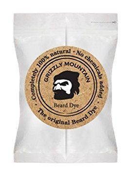Organic Dark Brown Beard Dye