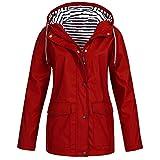 HARRYSTORE- Rain Jacket Active Outdoor Hooded...
