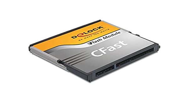 DeLOCK 8GB CFast Memoria Flash MLC - Tarjeta de Memoria (8 ...