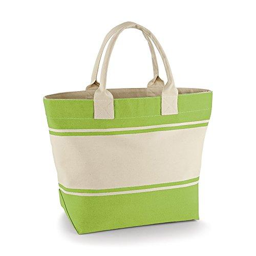 Quadra Canvas Deck Bag (24 Liters) (One Size) (Kiwi/Natural)