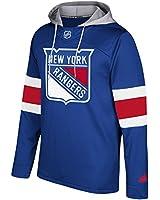 adidas NHL New York Rangers Mens Silver Jersey...