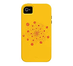 Andromeda Nebula iPhone 4/4s Amber Tough Phone Case - Design By Humans