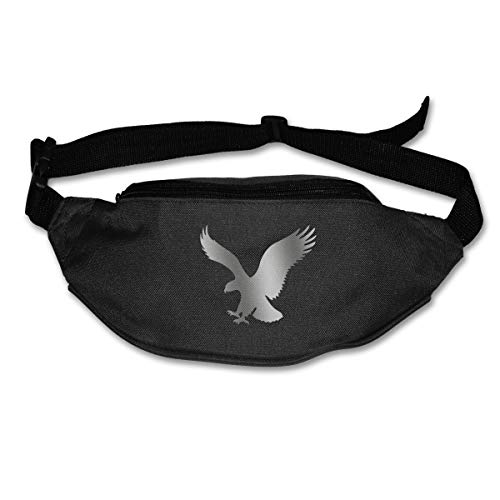 American Eagle Outfitters Pack Waist/Bum Bag Adjustable Belt Bags Running Cycling Fishing Sport Waist Bags Black