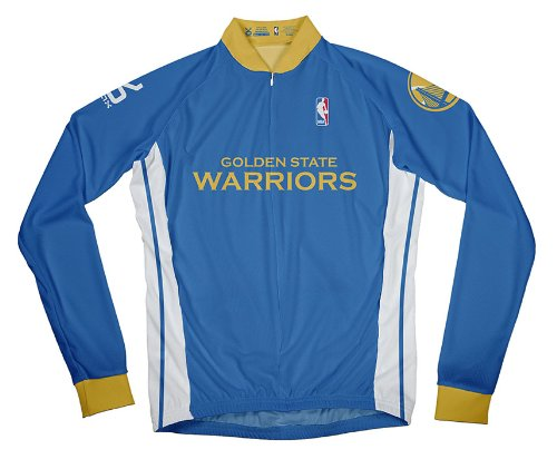 on sale 8f4d7 30af5 NBA Golden State Warriors Men's Long Sleeve Away Cycling Jersey